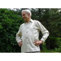 Linen Shirt Normal Neck Long Sleeve